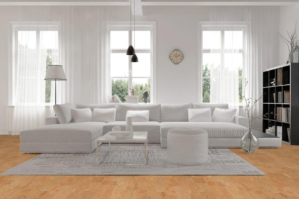 Astuces pour un salon tout en blanc