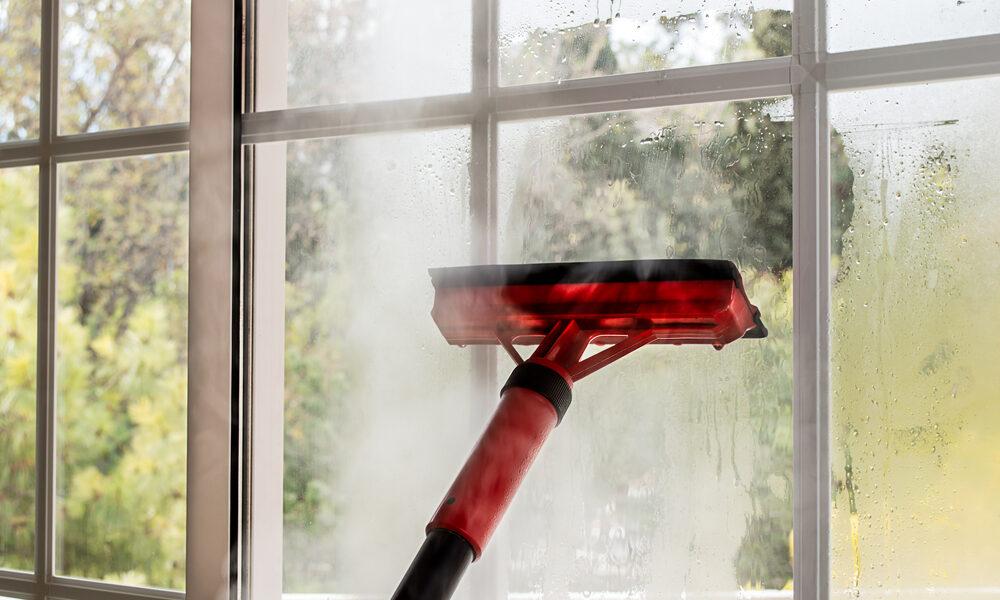 Quelques astuces pour nettoyer les vitres avec un nettoyeur vapeur