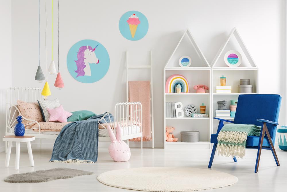Meubler une chambre d'enfant